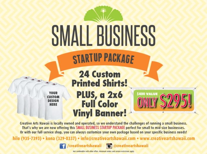 Small Business Startup Package now available!